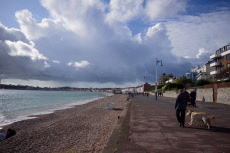 Seasonal weather, Weymouth, UK - 17 Oct 2019