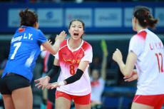 (SP)CHINA-WUHAN-7TH MILITARY WORLD GAMES-VOLLEYBALL
