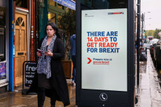 Get ready for Brexit campaign, London, UK - 17 Oct 2019