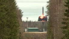 Russia: Russia test launches Yars intercontinental ballistic missile from Plesetsk Cosmodrome