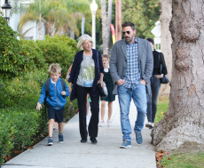 Ben Affleck out and about, Los Angeles, USA - 17 Oct 2019