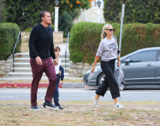 Molly Sims out and about, Los Angeles, USA - 17 Oct 2019