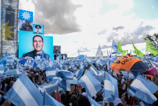 Commemoration of the Peronist loyalty day in Santa Rosa