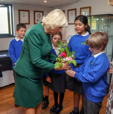 Camilla Duchess of Cornwall visit to Sussex, UK - 17 Oct 2019