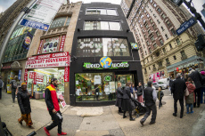 The ubiquitous Weed World trucks spawn a brick-and-mortar store in New York