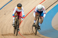 UEC European Track Cycling Championships. Apeldoorn, Netherlands - 17 Oct 2019
