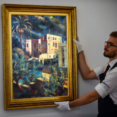 Sotheby's Islamic, Indian and Middle Eastern art preview, London, UK - 18 Oct 2019