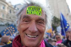 People's Vote protest march, London, UK - 19 Oct 2019