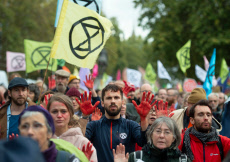 Extinction Rebellion Protest, London, UK - 18 Oct 2019