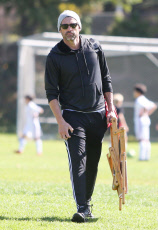 Patrick Dempsey out and about, Los Angeles, USA - 19 Oct 2019