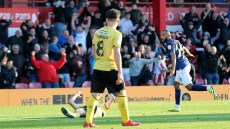 Brentford v Millwall, Sky Bet EFL Championship, Football, Griffin Park, London, Greater London, United Kingdom - 19 Oct 2019