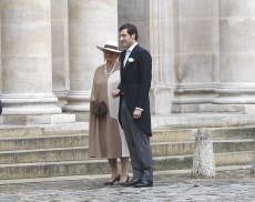 Paris Wedding of Prince Jean - Christophe Napoleon Bonaparte with Countess Olympia from and to Arco - Zinneberg
