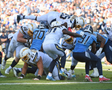 NFL Los Angeles Chargers vs Tennessee Titans, Nashville, USA - 20 Oct 2019