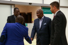 Russia: Uganda's  Foreign Minister Kutesa arrives in Sochi for Russia-Africa Economic Forum