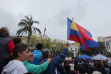Music replaces the protests in a Quito that cries out for peace