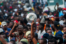 Protests in Port-au-Prince