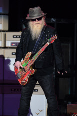 ZZ Top in concert at the Coral Sky Amphitheatre, West Palm Beach, USA - 20 Oct 2019