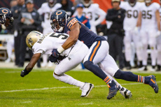 NFL Saints at Bears, Chicago, USA - 20 Oct 2019