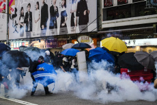 Anti-government March in Hong Kong, China - 20 Oct 2019