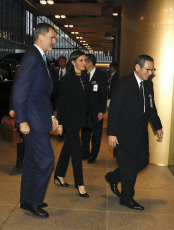 Spanish Royal couple arrive to Tokyo