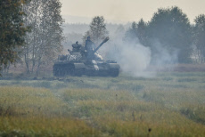 Ralsko - 30 years of freedom, military historical event, tank