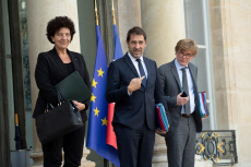 PARIS: Weekly Cabinet Meeting - Outgoing.