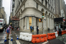 """In advance of the Nordstrom department store on """"Billionaire's Row"""" in New York opening"""