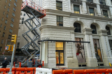 """NY: In advance of the Nordstrom department store on """"Billionaire's Row"""" in New York opening"""