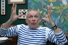 Russia: Fashion designer Jean Paul Gaultier gives interview to TASS news agency