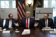 DC: Donald Trump holds a Cabinet Meeting