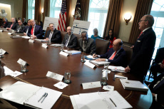 US President Donald Trump holds a Cabinet Meeting, Washington DC, USA - 21 Oct 2019