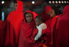 81 Migrants rescued in Malaga, Spain - 21 Oct 2019