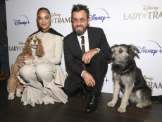 """APTOPIX NY Special Screening of """"Lady and the Tramp"""""""