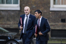 Politicians in Westminster, London, UK - 22 Oct 2019