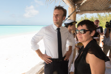 Les Glorieuses: Macron visiting the french Island  Les Glorieuse