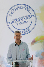 Launch of the promotional campaign 'Panama Stopover' to encourage tourism