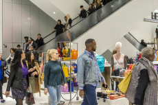 Nordstrom Department Store grand opening in New York