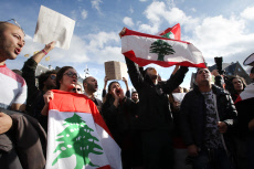 Lebanese Community Protest in Amsterdam