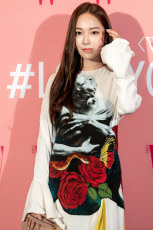 Breast cancer awareness campaign 'Love Your W' photocall, Seoul, South Korea - 25 Oct 2019