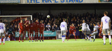 Crawley Town v Colchester United, EFL Carabao Cup, Fourth Round, Football, The People's Pension Stadium, UK - 29 Oct 2019