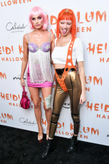 Heidi Klum's 20th Annual Halloween Party presented by Amazon Prime Video and SVEDKA Vodka, Arrivals, Cathedral Restaurant at Moxy East Village Hotel, New York, USA - 31 Oct 2019