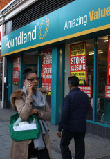 Poundland store, Camden, London, UK - 02 Oct 2019