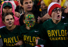 NCAA Football West Virginia vs Baylor, Waco, USA - 31 Oct 2019