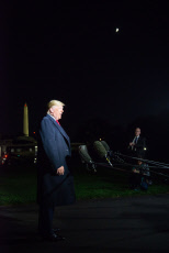 US President Donald Trump departs the White House, Washington DC, USA - 02 Nov 2019