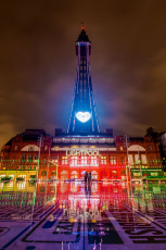 Blackpool Illuminations, UK - Nov 2019