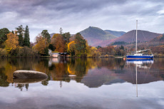 Seasonal weather, Keswick, UK - 06 Nov 2019