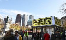 Teachers were on strike in The Hague for extra investments