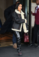 Kim Kardashian West and Kanye West out and about, New York, USA - 07 Nov 2019