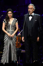 Andrea Bocelli in concert at the Seminole Hard Rock Hotel and Casino, Hollywood, USA - 07 Nov 2019