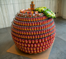 NY: 27th Annual Canstruction design competition in New York
